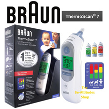 【Braun】ThermoScan 7 IRT6520  Ear Thermometer ★ 100% AUTHENTIC ★ FREE Qxpress Delivery ★