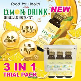 [Now or Never] Fat Burning Lemon Drink Trial Pack