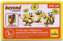 DiGi RM10 Top Up X 150