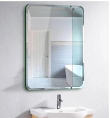 Punch-free bathroom mirrors-bathroom mirror bathroom bathroom mirror makeup mirror wall mount toilet