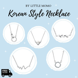 LITTLE MOMO  KOREAN DAINTY NECKLACES  17 ELEGANT DESIGNS