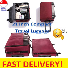 ⏱💯PREMIUM QUALITY❗️Lightest Collapsible FoldableSuitcase / Luggage Cabin Trolley Bag /Winter Travel
