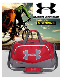 UNDER ARMOUR LARGE CAPACITY TRAVEL LEISURE DUFFLE BAG