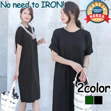 [CANMART] No need to Iron Dress_ C073150