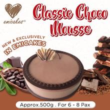 [Emicakes] Classic Choco Mousse (15CM Whole Cake)