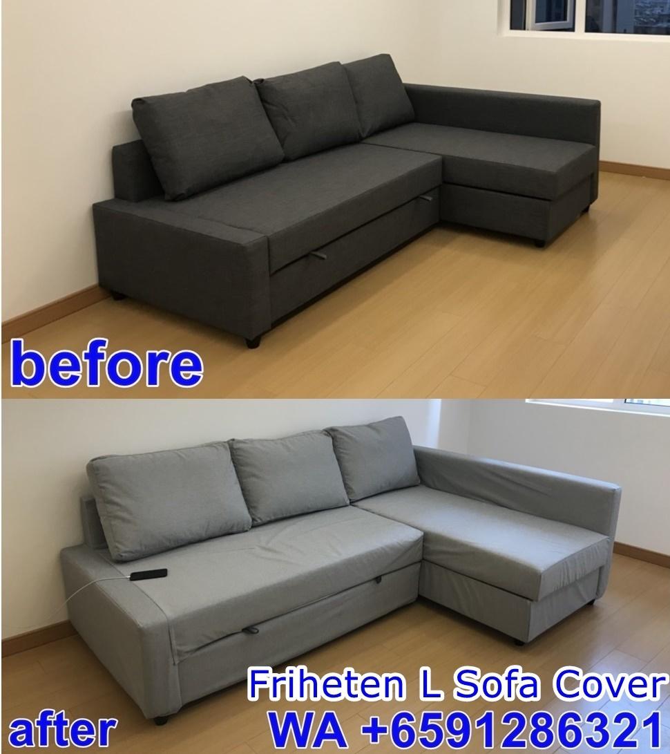 Enjoyable Ikea Friheten Sofa Cover Lamtechconsult Wood Chair Design Ideas Lamtechconsultcom