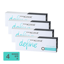 [Free Shipping] Johnson and Johnson 1-Day Acuvue Define Radiant Charm (30pcs/box) x4