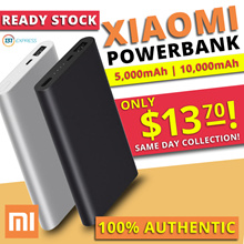 [Ready Stock] Xiaomi Latest Powerbank up to 10000mAh | Fast Charge | Dual Charge