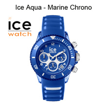 ICE WATCH - Ice Aqua Collection. Available in 3 hands and chrono.100% Authentic
