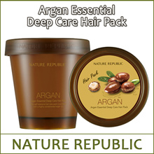 NATUREREPUBLIC (sn) Argan Essential Deep Care Hair Pack 200ml / For caring severely damaged hair