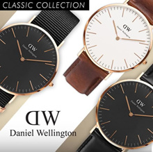 100% Authentic DW ★CLASSIC BLACK★Daniel Wellington Watch★100% Original ★Watch movement with warranty