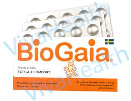Authentic Biogaia Chewable Tablets (Lemon Flavour)30s.
