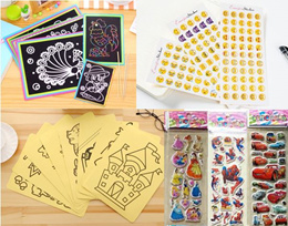 Sticker/Notepad/magnet/3D sticker/Notebook/educational toys learn toys