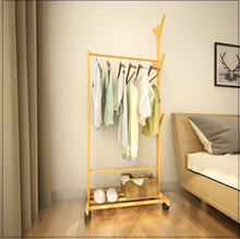 Multi-Purpose Clothes Hanger Rack With Side Tree Hooks * Laundry Drying Rack Storage