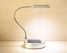 Table Lamp/    Solar Table Lamp Reading Light USB Rechargeable Night Light