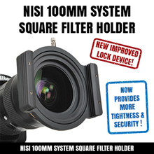 NISI 100mm System Square Filter Holder for Canon Nikon Sony Samsung Sigma Tamron Lenses DSLR Camera Camcorder High Premium Quality