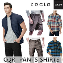TESLA CQR TACTICAL CARGO PANTS / FLANNEL SHIRTS / High Quality Work Pants / Promotion