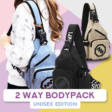 UNISEX BODYPACK / MEN and WOMEN BODYPACK [SLING BAG / SHOULDER BAG / TAS PRIA / TAS WANITA]