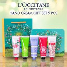LOccitane Hand Cream Gift Set ❤ 3 or 5 pcs ❤ Supplies Souvenir Gift Bag