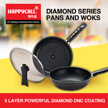 *SPECIAL PROMO*Happycall Diamond Series Pans and Woks *FREE GIFTS* *BEST PRICES*