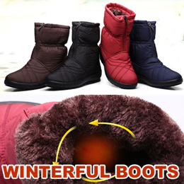 2016 Womens Winterful boots  winter shoes WINTER SOCKS