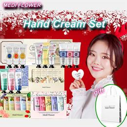 [Medi Flower] 3p / 5p / 6p  Hand Cream Gift Set / shopping bag free giveaway