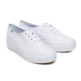 [Keds] TRIPLE SEASONAL SOLIDS (WF49946) White (WT) sneakers
