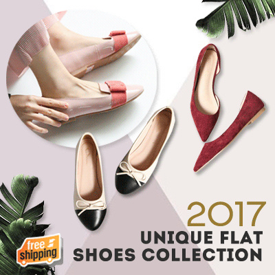 89K ONLY AFTER USED COUPON!2017 UNIQUE FLAT SHOES COLLECTIONS PREMIUM QUALITY! FREE SHIPPING! SEPATU Deals for only Rp95.920 instead of Rp95.920