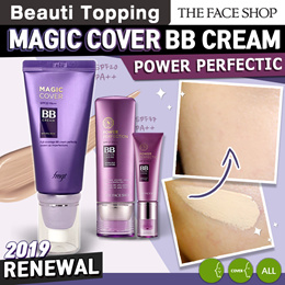 BEST BB Cream Line★THE FACE SHOP★Magic Cover BB Cream/Face It Power Perfection BB Cream [Beauti Topp