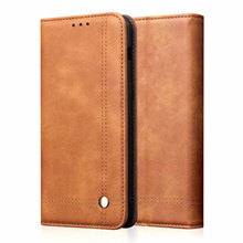 Xiaomi CC9 CC9E A3 Luxury Business Leather Case + Card Holder 25326
