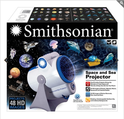 [Smithsonian] Planetarium Projector / toy / educational toy / christmas  gift / children / baby / science / sea / space