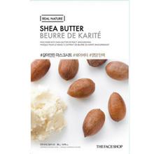 REAL NATURE MASK SHEET SHEA BUTTER.2017
