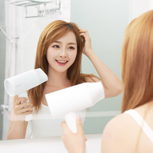 Xiaomi Youpin Small Fit Negative Ion Hair Dryer White/Big Air Volume Quick Dry Negative Ion Hair Salon Class Hairdressing Small and Lightweight