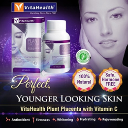Plant Placenta+VitaminC *Collagen *Youthful skin *natural 60s