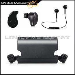 Bluetooth Wireless Headset Stereo Earpiece Earphone Earphones Mobile Headphone Ear bud