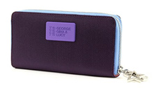 Direct from Germany -  GEORGE GINA & LUCY Ball Istic Wallet Girlsroule Purple-Blue