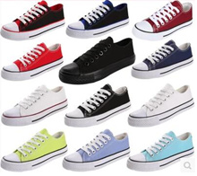 [Special Time] Size 35-44_MENS / WOMEN_Canvas Shoes Korean Student Summer Wild Tide Lace Casual Shoe