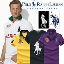 Ralph-Lauren 100% Authentic men and women T-shirts / POLO fashion shirt /t-shirt /sport