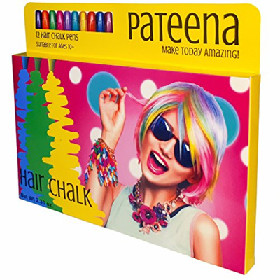 Hair Chalk for Girls | Temporary Hair Color for Kids | Hair Color Wax Pens  Make Perfect Accessories