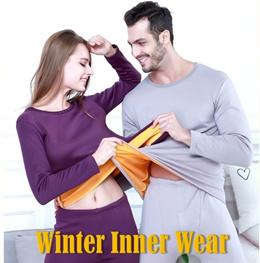 Fleeced Lined Winter Thermal Warm Inner Wear for Men n Women