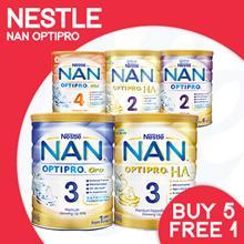 [NESTLÉ]【RESTOCKED! at 1000hrs】Nan Optipro/HA/Kid hypoallergenic formulated milk    Bundle of 6