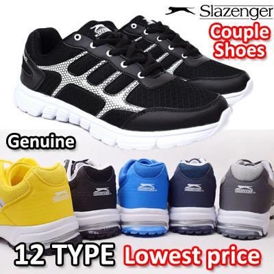 2dd6ea5fed [SLAZENGER] EVENT☆SUPER SALE☆ Authentic Ultra-light Running Shoes Couples  shoes