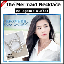 The Mermaid Necklace 925 Silver/Korean Popular Drama The Legend of the Blue Sea
