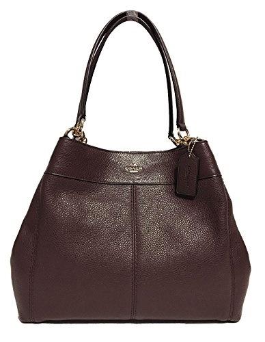 6c2022cd9b Qoo10 - (Coach) Coach F57545 Lexy Pebble Leather Shoulder Bag-   Bag ...