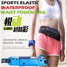 Sports Waist Pouch Bag/Multifunctional Smartphone And Wallet Waist Belt Pack/Waterproof Bag For Men And Women/Durable Running Sports GYM Arm band Pouch Case For Apple Iphone Samsung phone