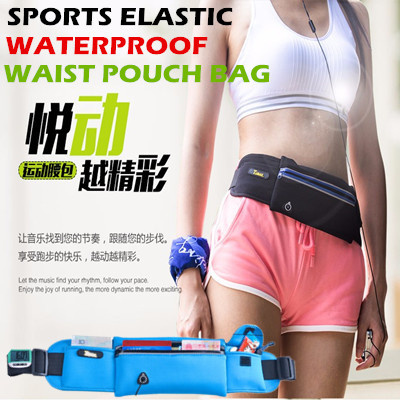 Sports Waist Pouch Bag/Multifunctional Smartphone And Wallet Waist Belt Pack/Waterproof Bag For Men And Women/Durable Running Sports GYM Arm band Pouch Case For Apple Iphone Samsung phone Deals for only S$29.9 instead of S$29.9