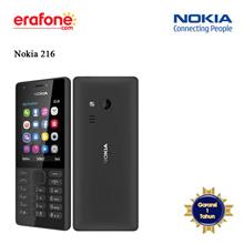Nokia 216 Handphone - Garansi Resmi 1 Tahun TAM