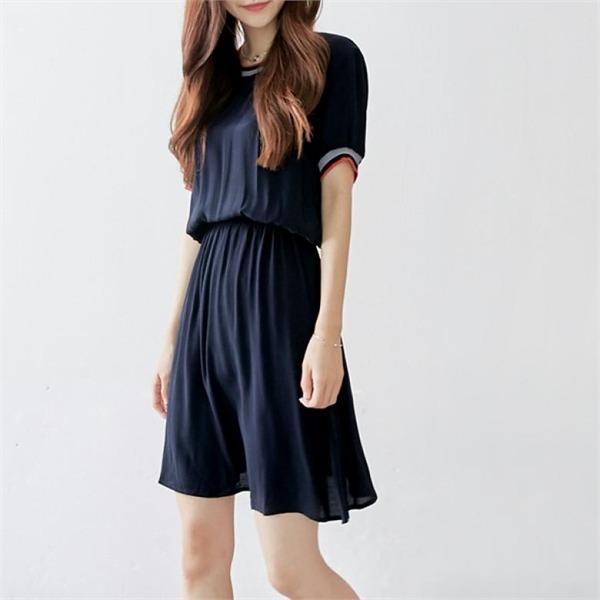 イニク忠バンディングOPSワンピースnew ロング/マキシワンピース/ワンピース/韓国ファッション