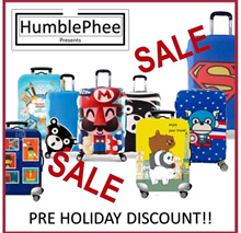 *Special Discount* Elastic Travel Luggage Bag Protector Cover 100+ Designs