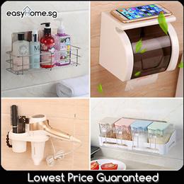 ★SALE★ Magic Stick Kitchen N Bathroom Rack/ Hook/ Towel/ Toilet Roll / Tissue Paper Holder